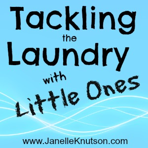 tips for managing the laundry with little ones, JanelleKnutson