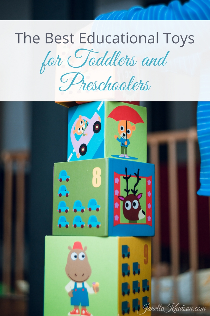 Great Toys For Preschoolers : The best educational toys for toddlers and preschoolers